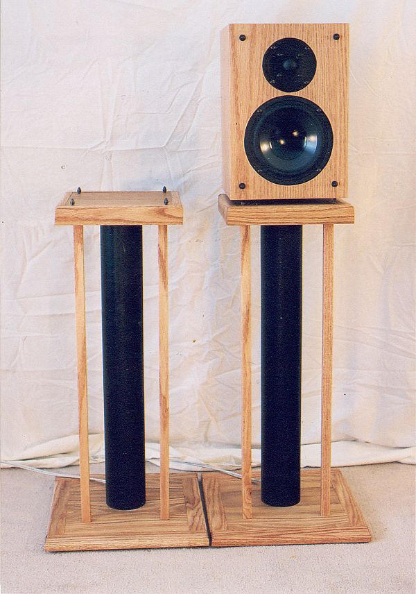 Diy Speaker Stands For Heavy Speakers